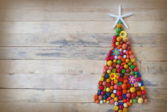 Colorful christmas tree Royalty Free Stock Photo