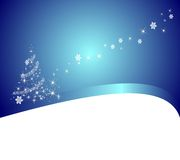 Colorful Christmas Vector Background Royalty Free Stock Photos