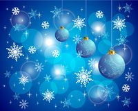 Colorful Christmas Vector Backround Royalty Free Stock Images