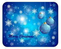 Colorful Christmas Vector Backround Royalty Free Stock Photography
