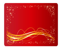 Colorful Christmas Vector Backround Stock Images