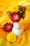 Colorful chrysanthemum Stock Image
