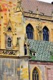Colorful church facade Stock Photo