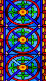Colorful Church Stained Glass Against Light In The Metropolitan Cathedral Basilica of the Assumption of Our Lady of Valencia Stock Photography