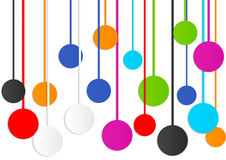 Colorful circle abstract background Royalty Free Stock Image