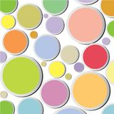 Colorful circle background Stock Photos