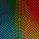 Colorful Circle Background Stock Images