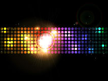 Colorful circle banner Royalty Free Stock Photography