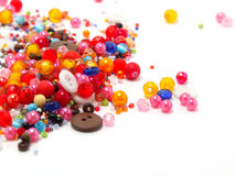 Colorful Circle Beads Decoration Stock Image