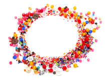 Colorful Circle Beads Stock Image