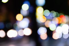 Colorful of  circle bokeh burry Royalty Free Stock Photography