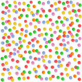 Colorful circle confetti Royalty Free Stock Photography