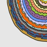 Colorful circle corner Royalty Free Stock Images