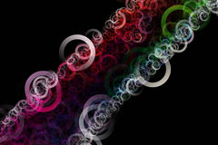 Colorful circle design Royalty Free Stock Images