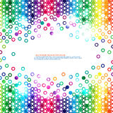Colorful circle design Royalty Free Stock Photos