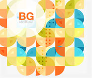 Colorful circle elements Stock Photo