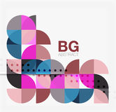 Colorful circle elements Royalty Free Stock Photos
