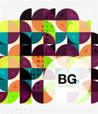 Colorful circle elements Royalty Free Stock Photo