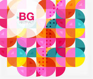 Colorful circle elements Stock Photography