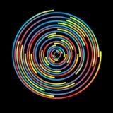Colorful circles Royalty Free Stock Image