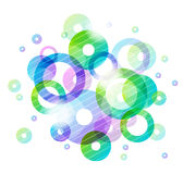 Colorful Circles. Abstract Background With Colorful Circles Royalty Free Stock Photo