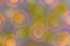 Colorful Circles. Cirles in pink, yellow, green and purple muted pastel colors stock illustration