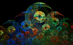 Colorful Circles Royalty Free Stock Images