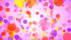 Colorful circles abstract background. Colorful circles. Computer generated abstract background Royalty Free Stock Photography