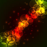 Colorful circles background Royalty Free Stock Photos