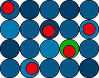 Colorful circles background Royalty Free Stock Photo