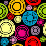 Colorful circles background Stock Images