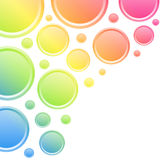 Colorful circles background Royalty Free Stock Photography