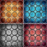 Colorful circles backgrounds Stock Images