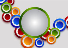 Colorful circles Stock Photos
