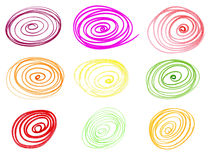 Colorful circles Royalty Free Stock Image