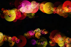Colorful circles Stock Photo