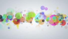 Colorful circles Stock Images