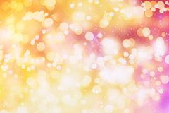 Colorful circles of light abstract background Royalty Free Stock Photography