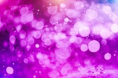 Colorful circles of light abstract background. Abstract blurred light background layout design can be use for background concept or festival background Royalty Free Stock Photo