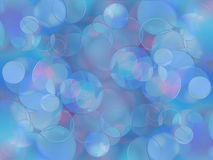 Colorful circles of light abstract background Stock Image