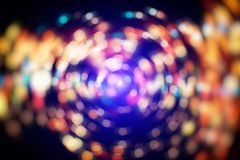 Colorful circles of light abstract background. Colored Abstract Blurred Light Background . Elegant abstract background Stock Images
