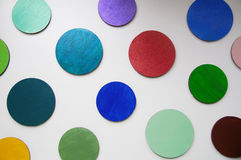 A colorful circles Stock Images