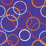 Colorful circles seamless pattern Royalty Free Stock Photo