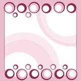 Colorful circles template Stock Photo