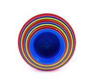 Colorful circles together Royalty Free Stock Photography