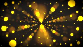 Colorful Circles in yellow gold color abstract background with nightlife theme. Colorful Circles in yellow gold color. Great for night life, clubs theme. Bloom vector illustration