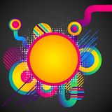 Colorful Circular Background Royalty Free Stock Images
