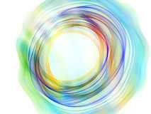 Colorful Circular Forms Royalty Free Stock Photo