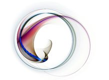 Colorful circular motion Royalty Free Stock Photography