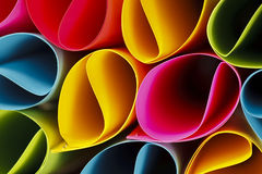 Colorful Circular Shapes Royalty Free Stock Images